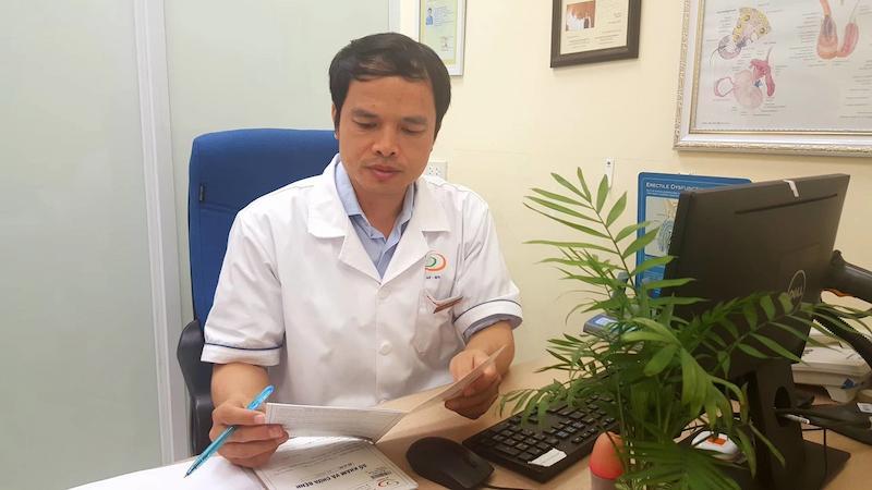 Bác sĩ chữa yếu sinh lý Nguyễn Bá Hưng