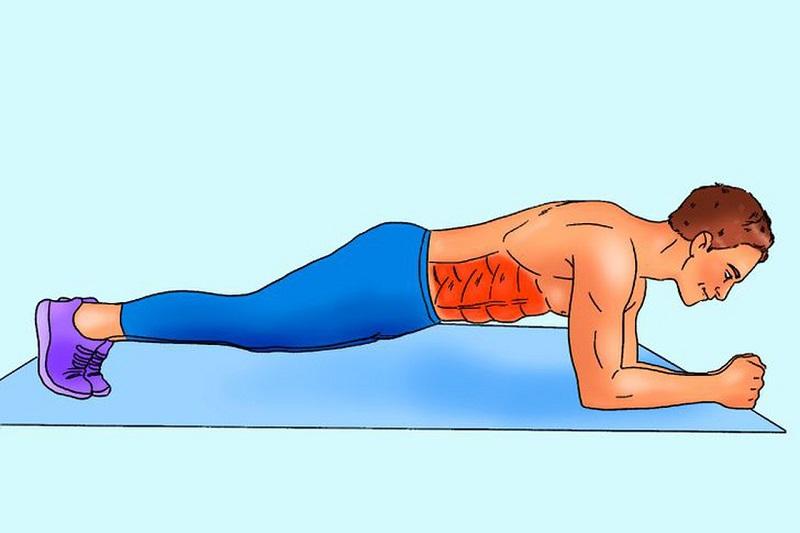 Bài tập plank cải thiện sinh lý nam hiệu quả