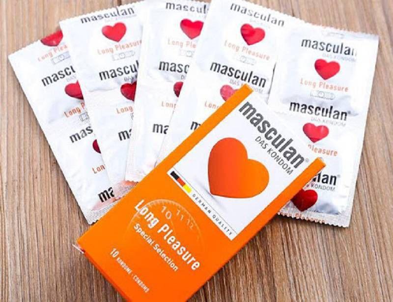 Masculan được sản xuất bằng công nghệ tiên tiến của Đức