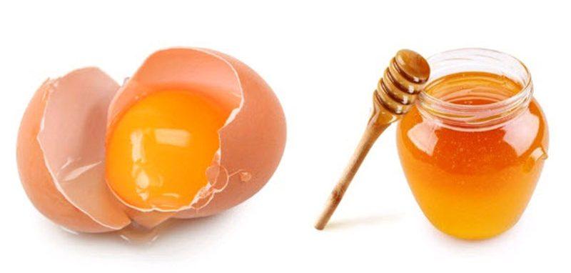 Sự kết hợp mật ong và trứng gà cho hiệu quả cao