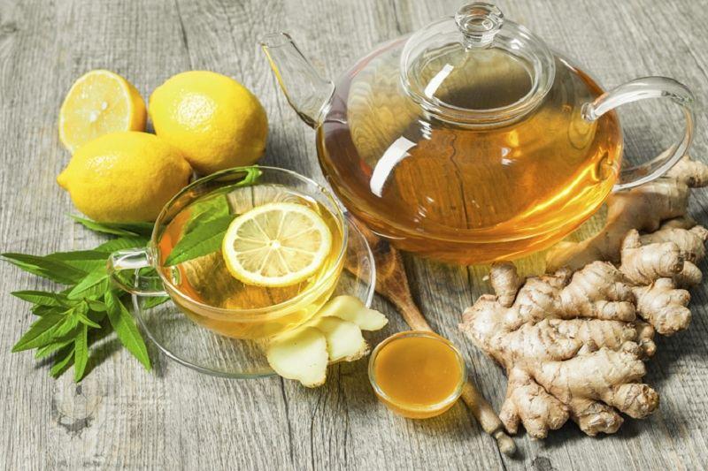Uống nước gừng mật ong vào mỗi sáng giúp nam giới nhanh chóng lấy lại phong độ