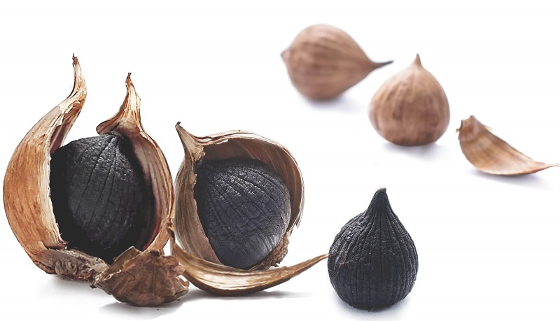 Tỏi đen có công dụng tốt gấp 2-3 lần so với tỏi thông thường trong chữa yếu sinh lý cho nam giới