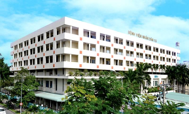 Bệnh viện Nhân Dân 115 được xây dụng ngay trung tâm thành phố