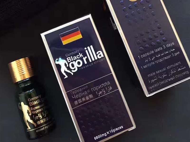 Black Gorilla là thuốc cường dương của Đức giúp quý ông sung mãn, tự tin