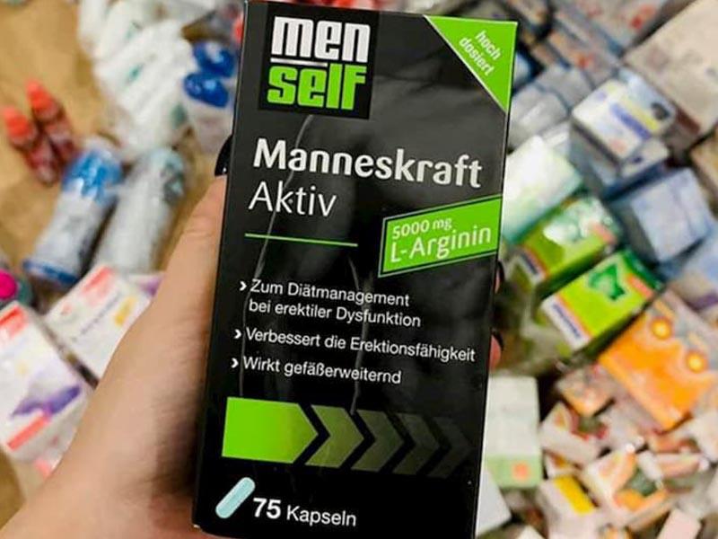 Menself Manneskraft Aktiv có tác dụng cải thiện sức khỏe sinh lý quý ông