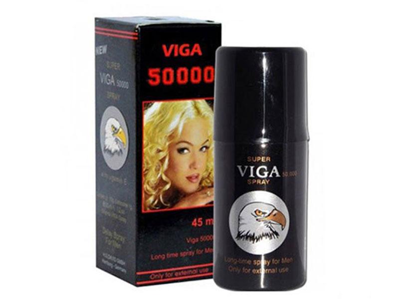 Super Viga 50000 là thuốc cường dương của Đức được sản xuất dạng chai xịt