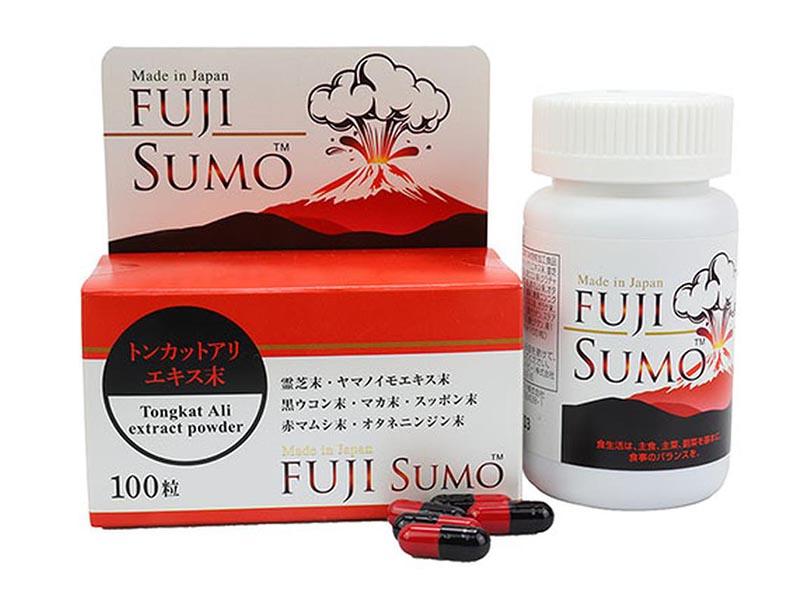 Fuji Sumo có tác dụng hỗ trợ điều trị chứng suy giảm ham muốn ở nam giới