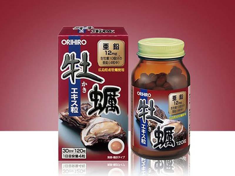 Hàu tươi Orihiro là sản phẩm tăng cường sinh lý nam của Nhật có chiết xuất từ thịt hàu khai thác từ các vùng biển Nhật Bản