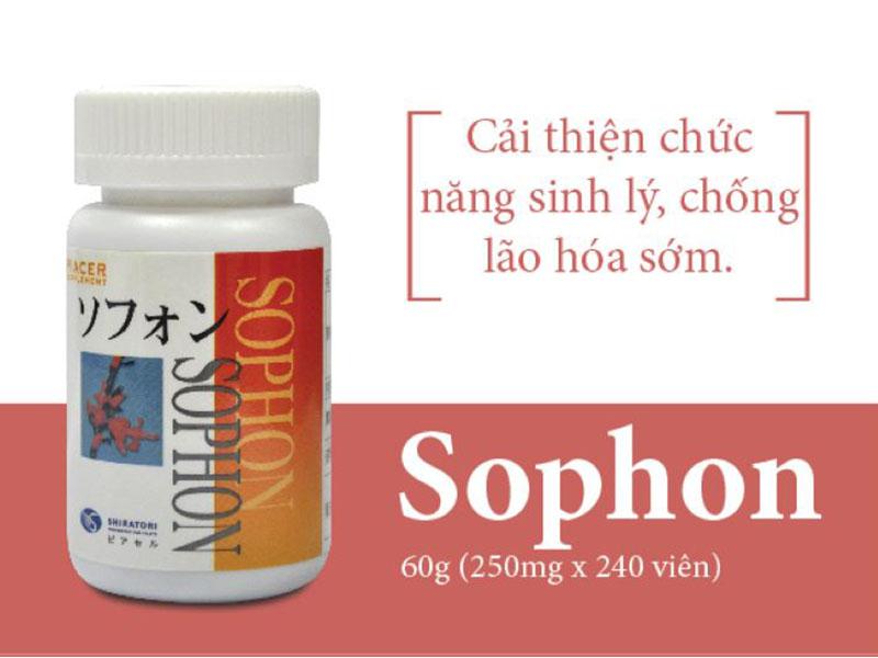 Viên uống tăng cường sinh lý nam của Nhật Piacer Sophon được sử dụng cho các quý ông tuổi trung niên