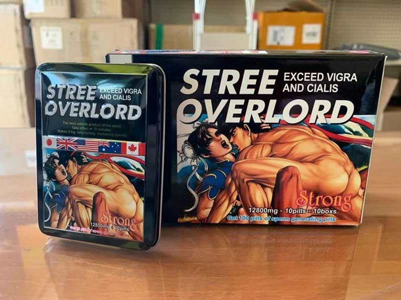Sản phẩm tăng cường sinh lý nam của Nhật Stree Overlord được nhiều quý ông tin dùng
