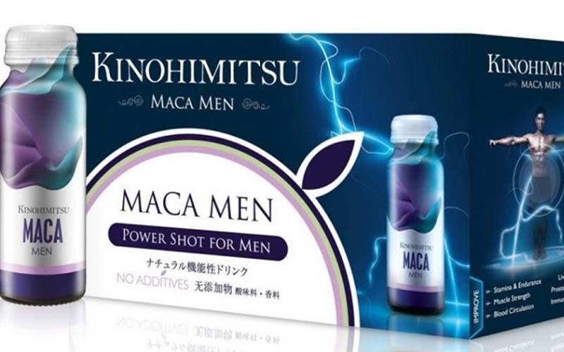 Kinohimitsu Maca Men được bào chế từ các thành phần tự nhiên
