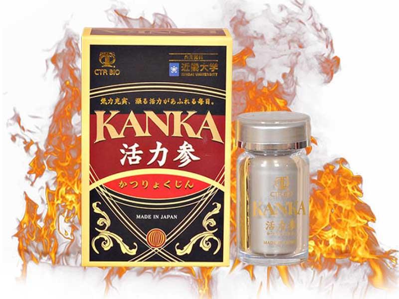 Kanka là TPCN tăng cường sinh lý nam của Nhật sử dụng thành phần chính là sâm cau