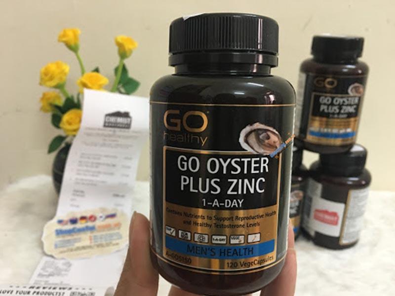 Viên uống tăng cường sinh lý nam của Úc Oyster Plus Zinc là sản phẩm được nhiều quý ông lựa chọn