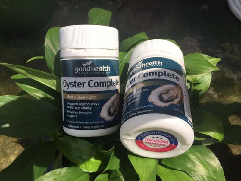 Tinh chất hàu Oyster Complete là sản phẩm chăm sóc sức khỏe sinh lý phái mạnh hiệu quả