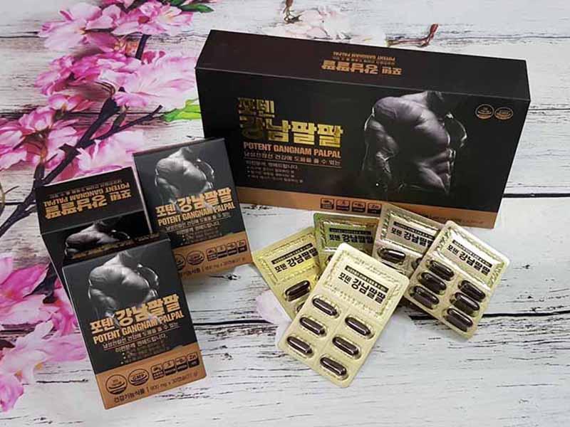 Potent Gangnam Palpal là thuốc tăng cường sinh lý nam Hàn Quốc hiệu quả