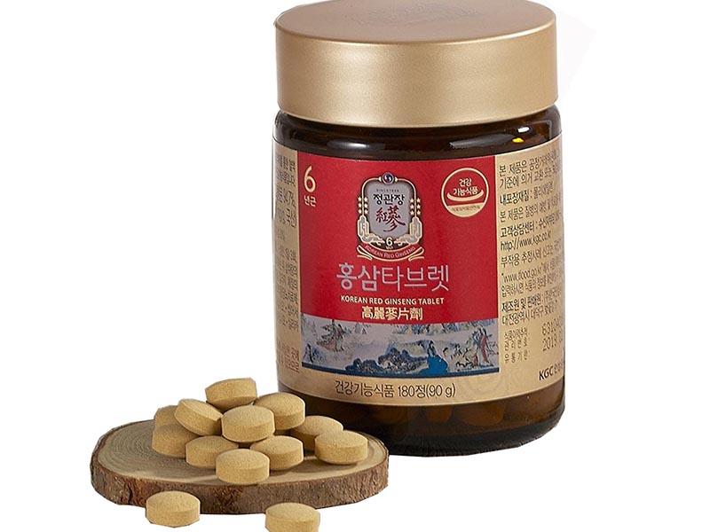 Viên hồng sâm Cheong Kwan Jang sử dụng dược liệu chính là hồng sâm quý hiếm