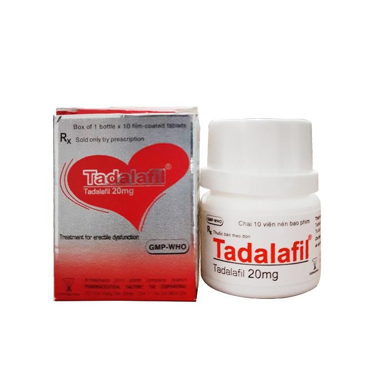 Thuốc trị yếu sinh lý tadalafil