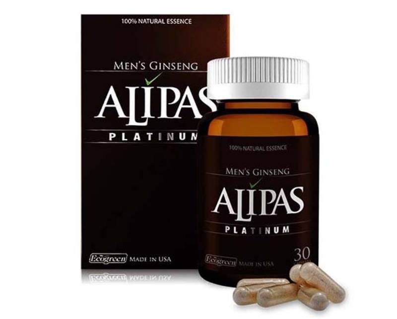 Viên uống trị xuất tinh sớm Alipas làm tăng tính dẻo trong quan hệ tình dục