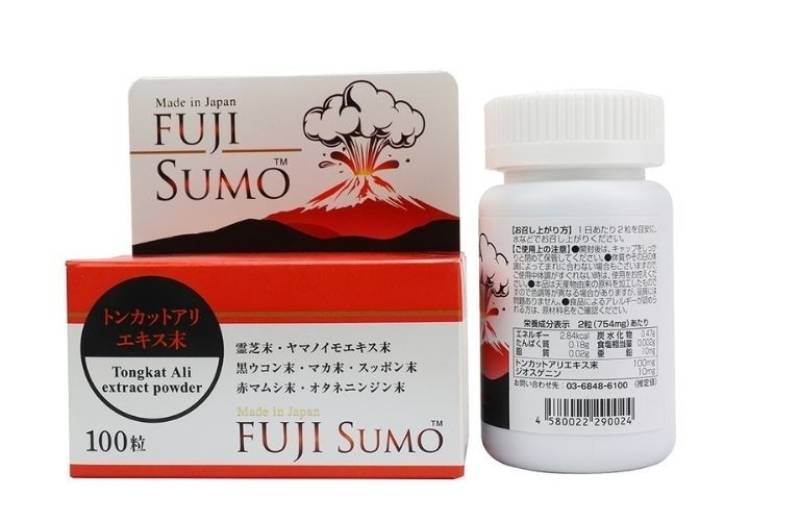 Fuji Sumo là sản phẩm hỗ trợ điều trị xuất tinh sớm được sản xuất bởi công ty công ty Medicine Alpha Nhật Bản