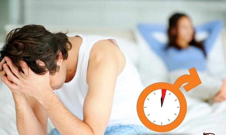 Xuất tinh sớm là một trong những biểu hiện của yếu sinh lý
