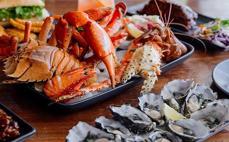 Hải sản là nguồn thực phẩm giàu kẽm tốt cho sinh lý nam giới