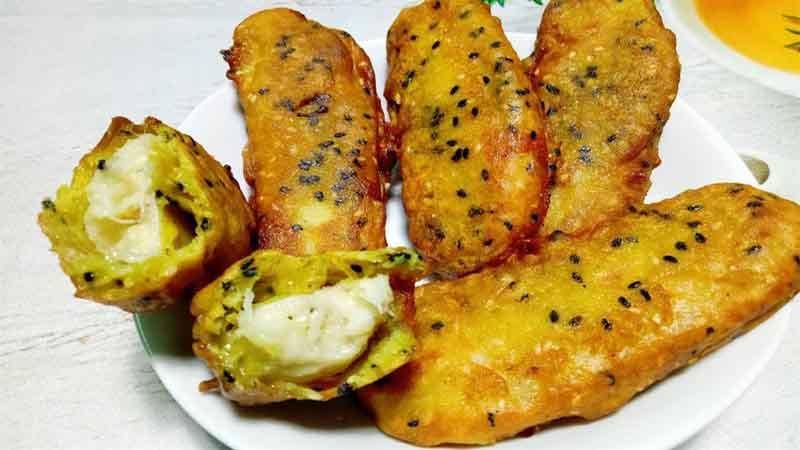 Bánh chuối là món ăn khoái khẩu của nhiều người