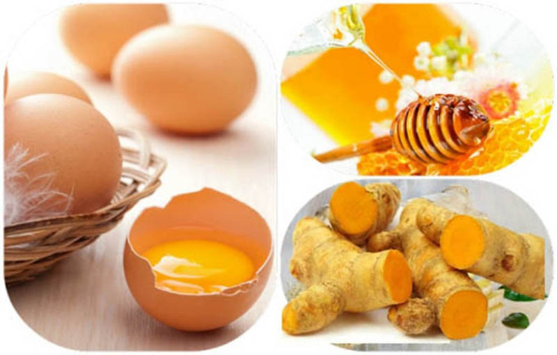 Nghệ tươi kết hợp với trứng gà chữa xuất tinh sớm