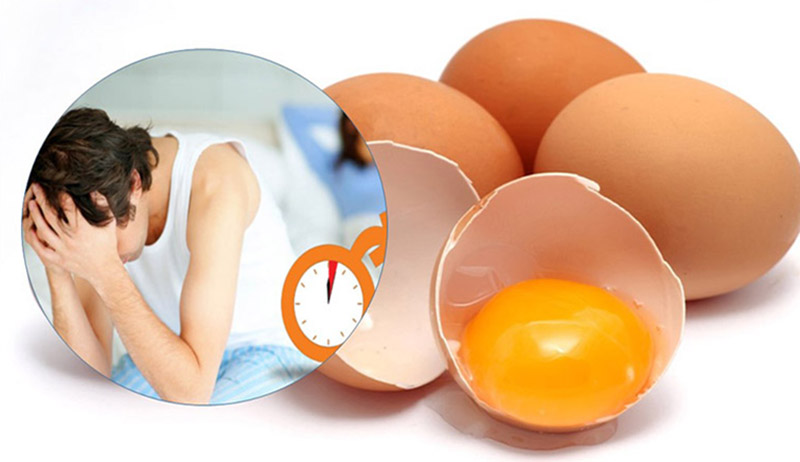 Chữa xuất tinh sớm bằng trứng gà là biện pháp dân gian đơn giản, hiệu quả