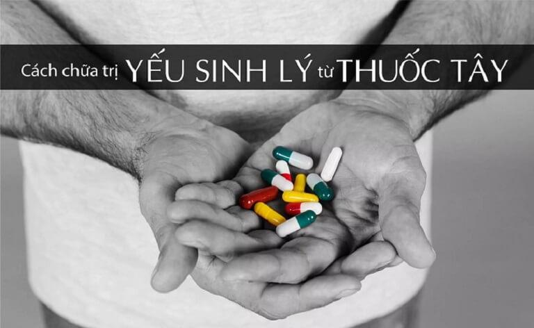 Một vài loại thuốc điều trị yếu sinh lý nam nên biết