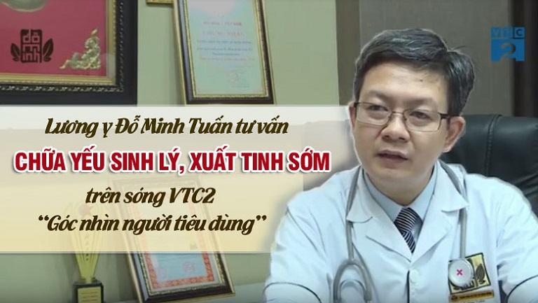 Lương y Đỗ Minh Tuấn tư vấn chữa yếu sinh lý, xuất tinh sớm trên sóng VTC2