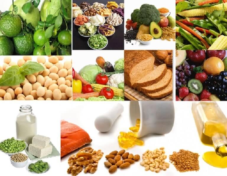 Thực phẩm là nguồn nội tiết tố nữ tự nhiên