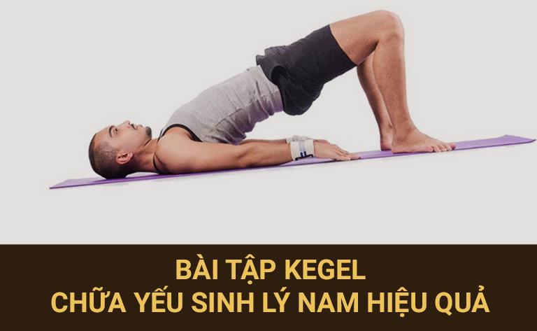 Tập thể dục giúp cải thiện khả năng cương dương