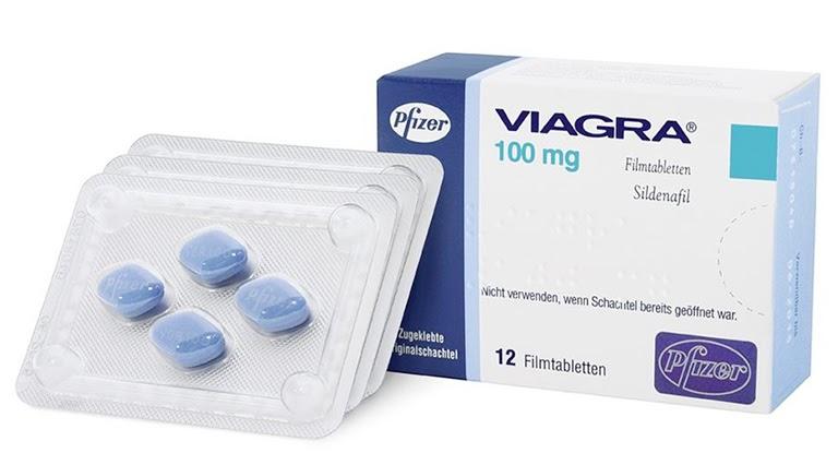 Thuốc Viagra điều trị rối loạn cương dương