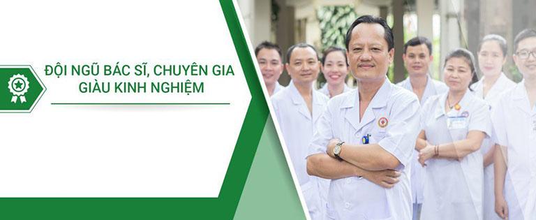 Đội ngũ y bác sĩ giỏi