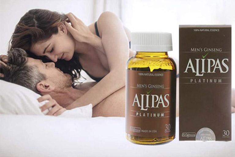 Sâm Alipas giúp tăng sự dẻo dai và khả năng cương cứng