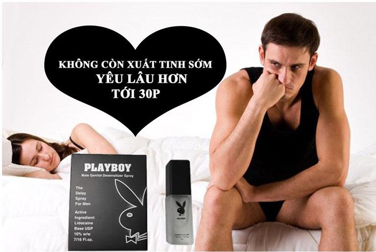 Xịt Playboy chống xuất tinh sớm